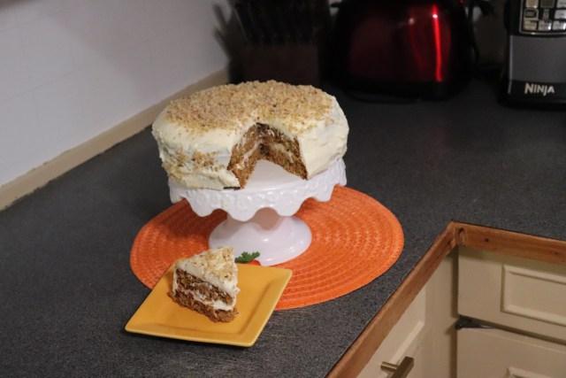 Low Carb Carrot Cake