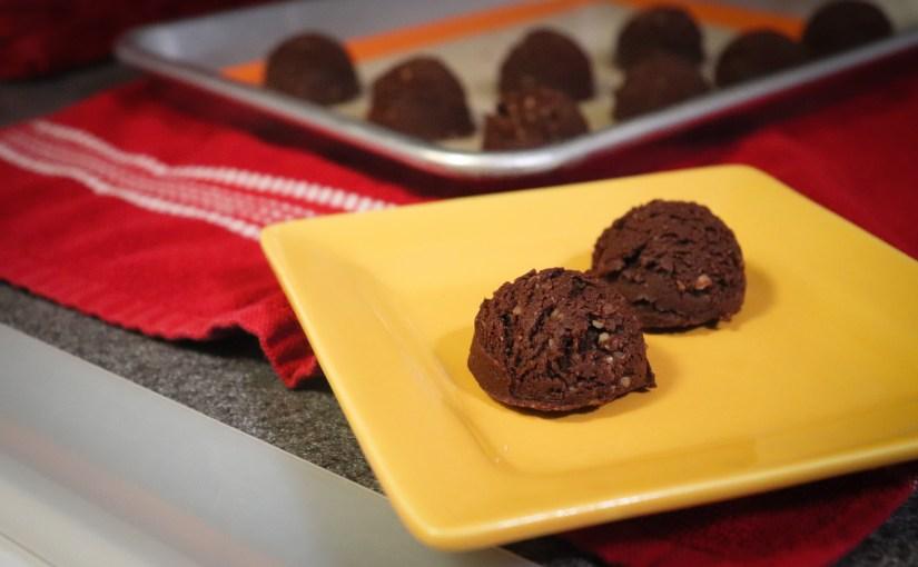 Keto Brownie Bites - No Bake