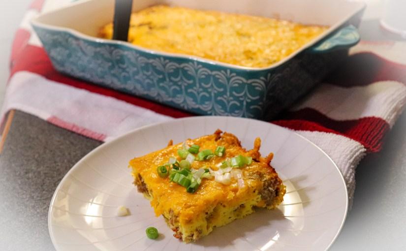Breakfast Casserole | Keto | Low Carb | Carnivore