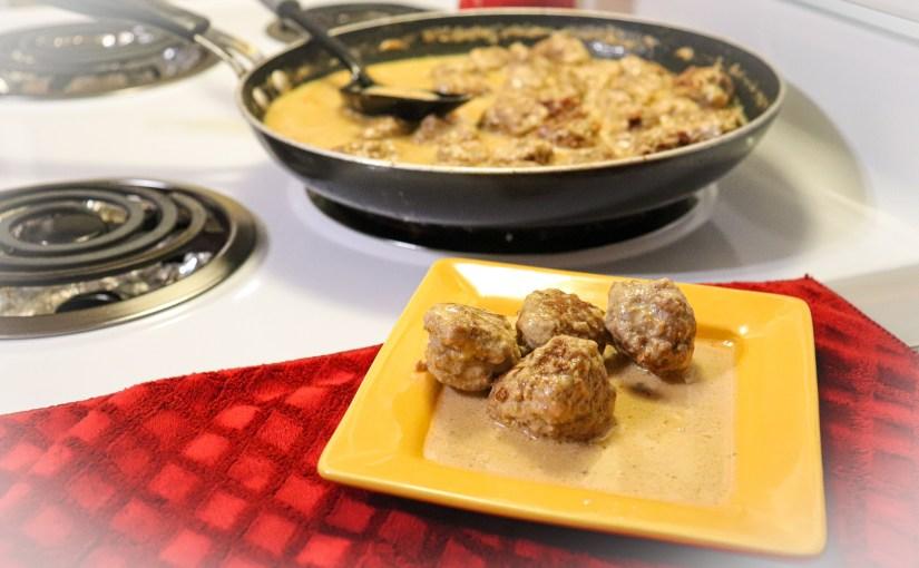Keto Swedish Meatballs