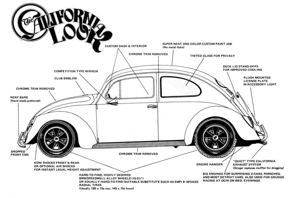 medium resolution of thesamba com beetle late model super 1968 up view topic would like to see pics of 71 74 cal look standards