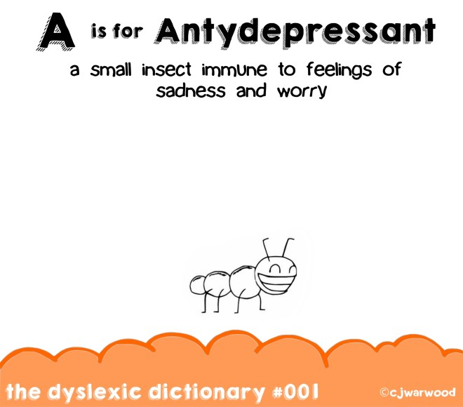 Ant Antidepressant Cartoon