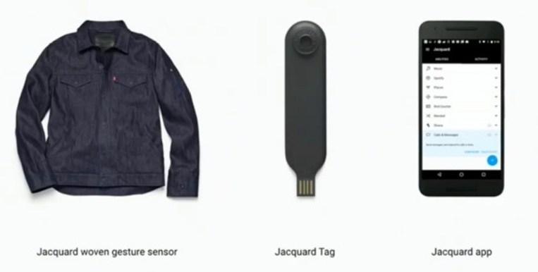 google levis jacquard smart denim jacket