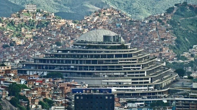 El Helicoide, in Caracas - Venezuela
