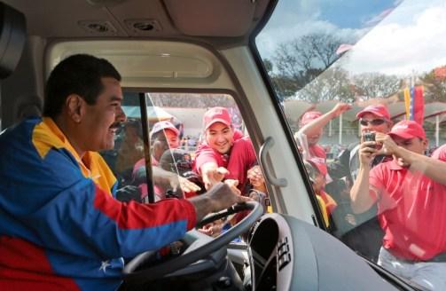 VENEZUELA-ELECTION-CAMPAIGN-MADURO