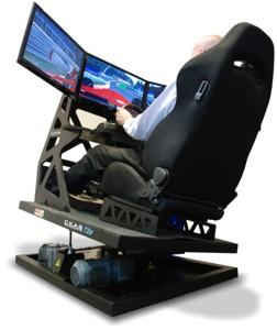 flight simulator chair motion rod iron chairs ckas thruxim inclusions