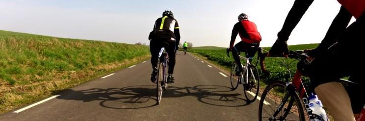 Landsvägscykel i grupp