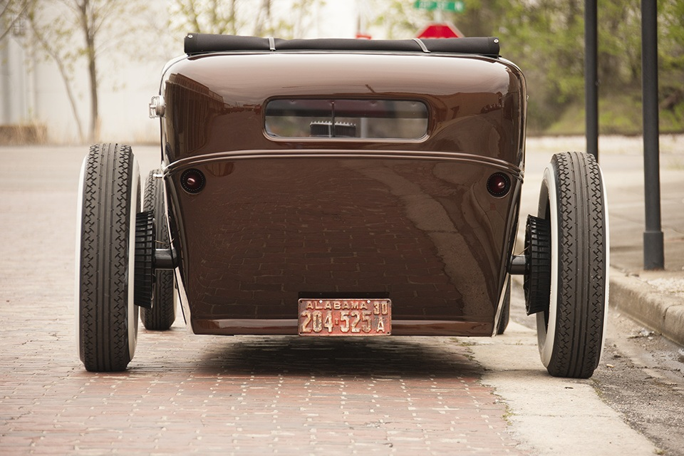 Downtown Brown – '30 Model A Tudor