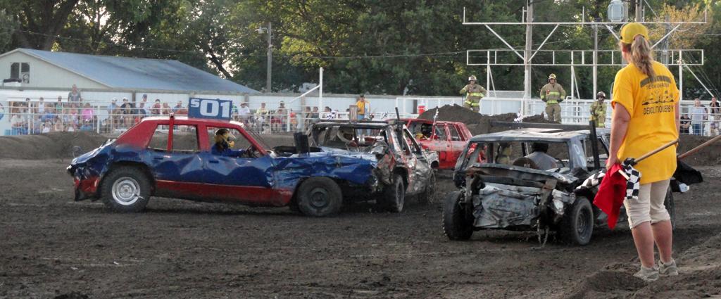 Kansas State Fair Demolition Derby