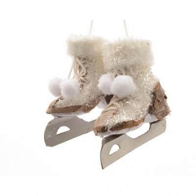 patins a glace en mousse a suspendre 14 cm