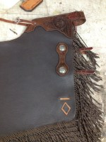 Partial Tooling, Cut Out Brand, Twisted Fringes & Antiqued Conchos