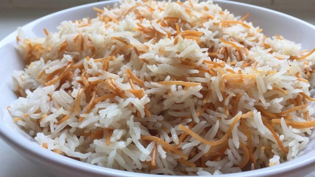 ارز بسمتي بالشعرية