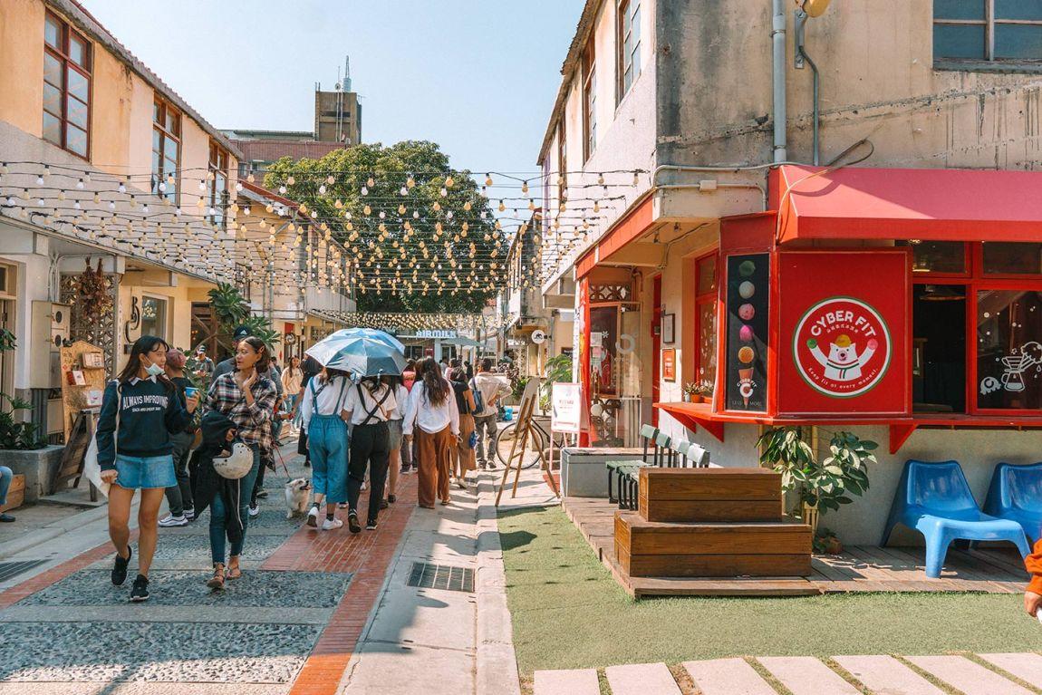 Things to do in Taichung, Taiwan blog post Shen Ji New Village