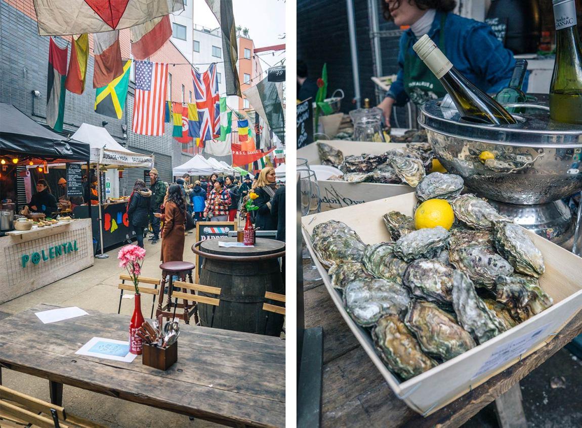 Maltby Street Market, Bermondsey London - Best Saturday markets in London