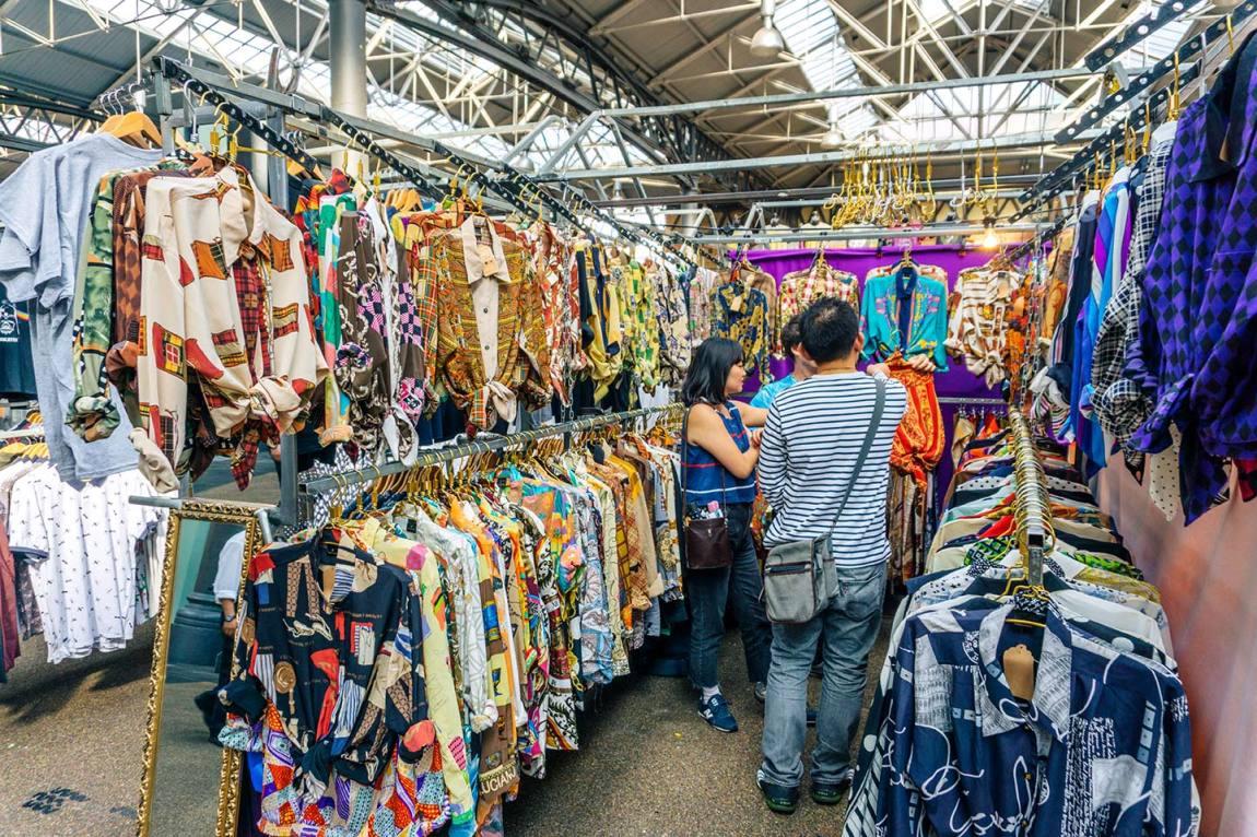Old Spitalfields Market Shoreditch London - The 10 best markets in London to visit