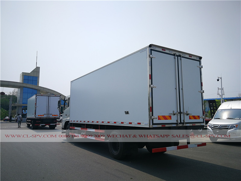 2 units Dongfeng tianjin refrigerated vehicle