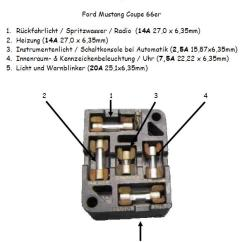 Msd 6al Wiring Diagram Mustang Ofdm Transmitter And Receiver Block 1969 Fuse Box | Autos Post