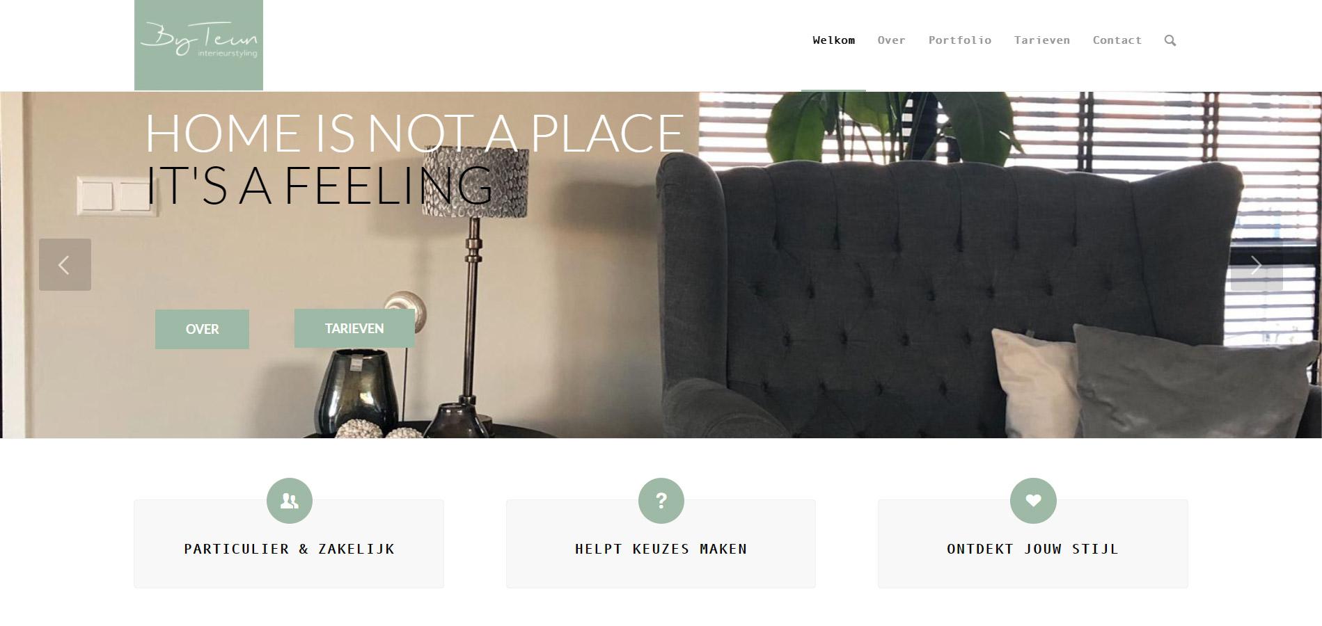 Website By Teun interieurstyling