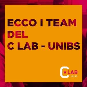 Ecco i Team del C Lab-UniBs - 24 Gennaio 2020