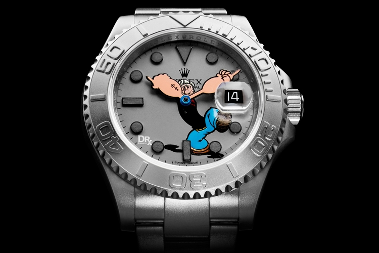 Bamford Watch Department x DrX Romanelli Popeye Yachtmaster 2015 ...