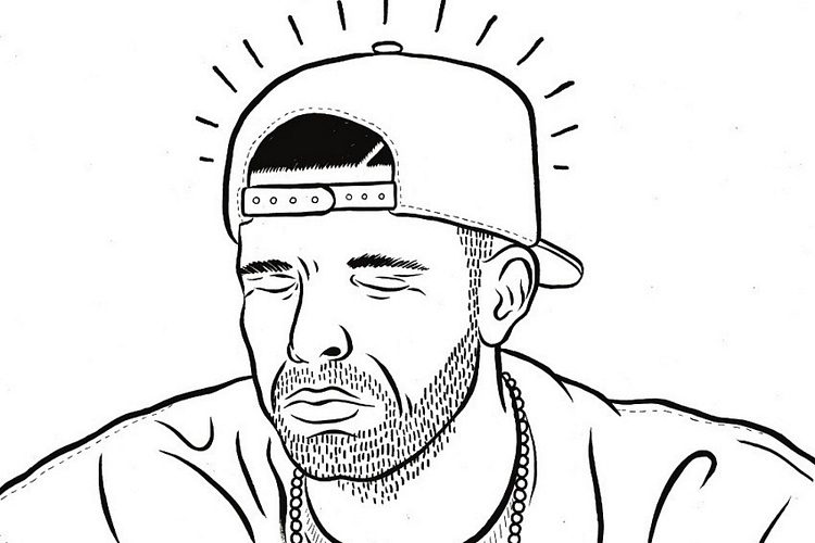 Under Star Projectors: The Unofficial Drake Coloring Book