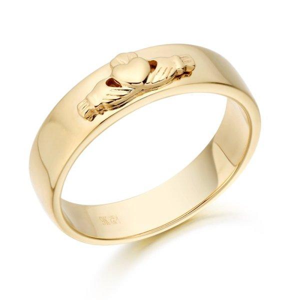Claddagh Wedding Ring-CL22CL
