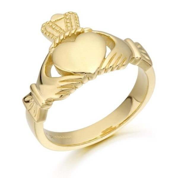 Mens Claddagh Ring-139ACL