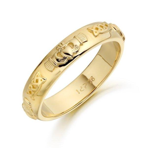 Claddagh Wedding Ring-CL41CL