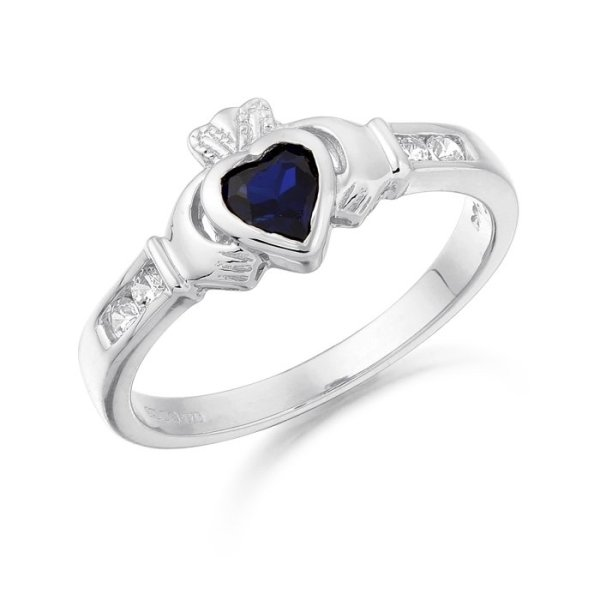 Claddagh Ring-CL100SWCL