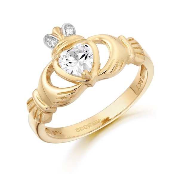 Claddagh Ring-CL25CL
