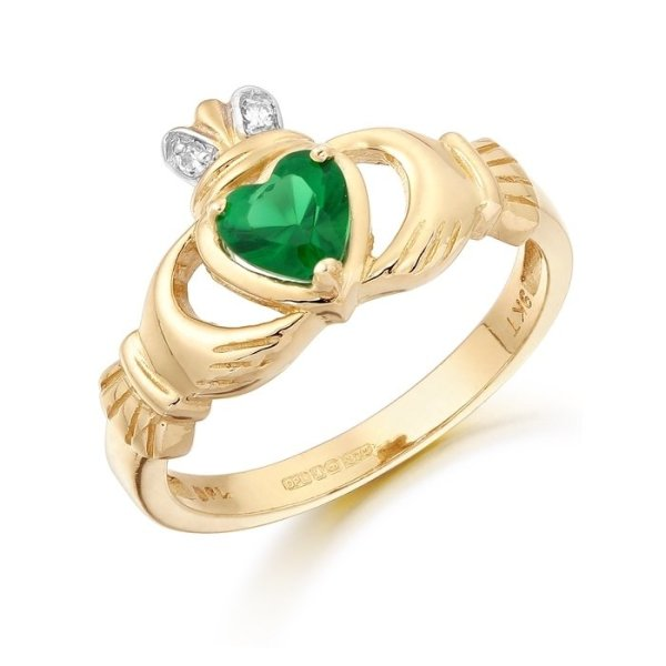 Claddagh Ring-CL25GCL