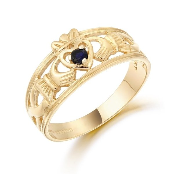 Claddagh Ring-CL26SCL