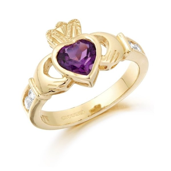 Claddagh Ring-CL102ACL