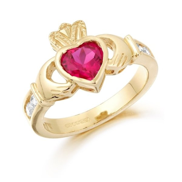 Claddagh Ring-CL102RCL