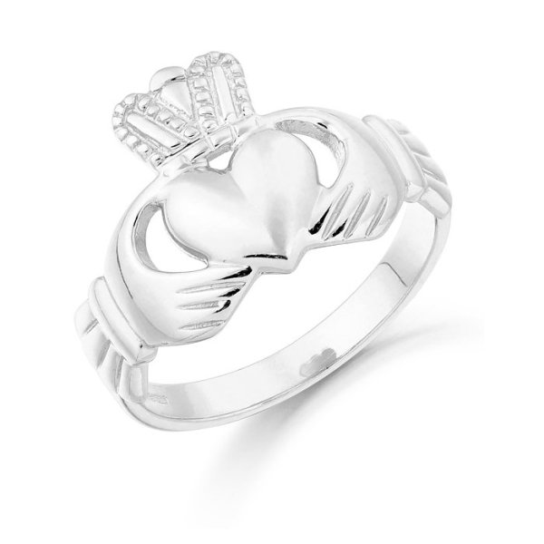Gents Claddagh Ring-CL7WCL