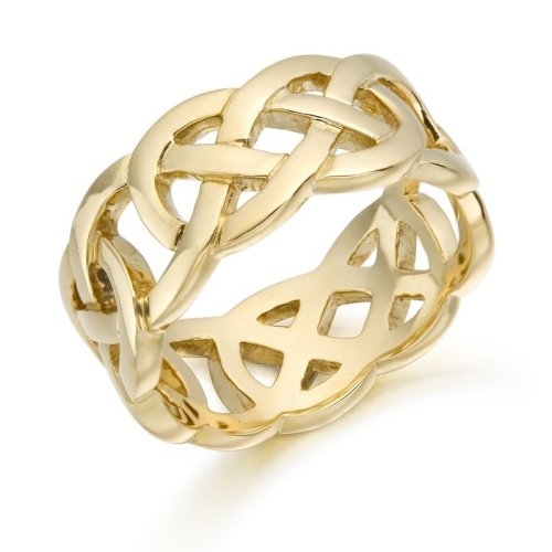 9ct Gold Celtic Wedding Ring