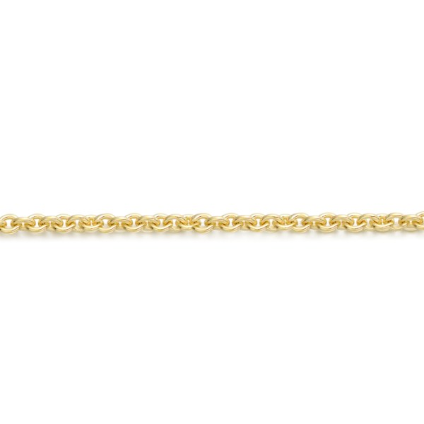 9ct Gold Belcher Chain-ROLO40CL