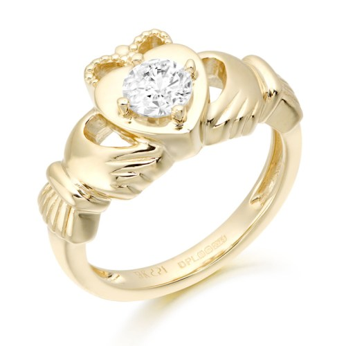 Claddagh-Ring. Irish Jewelry-CL51CL