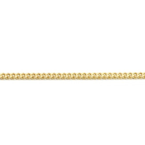 9ct Gold Curb Chain Necklace - DC40CL