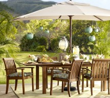 Pottery Barn Outdoor Dining Sets