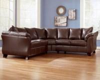 Blue Living Room Brown Furniture