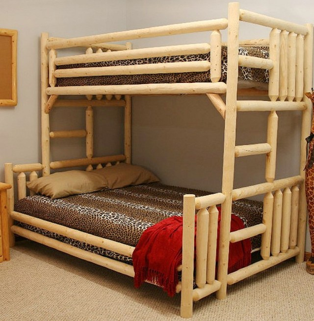 Double Twin Bunk Bed Plans