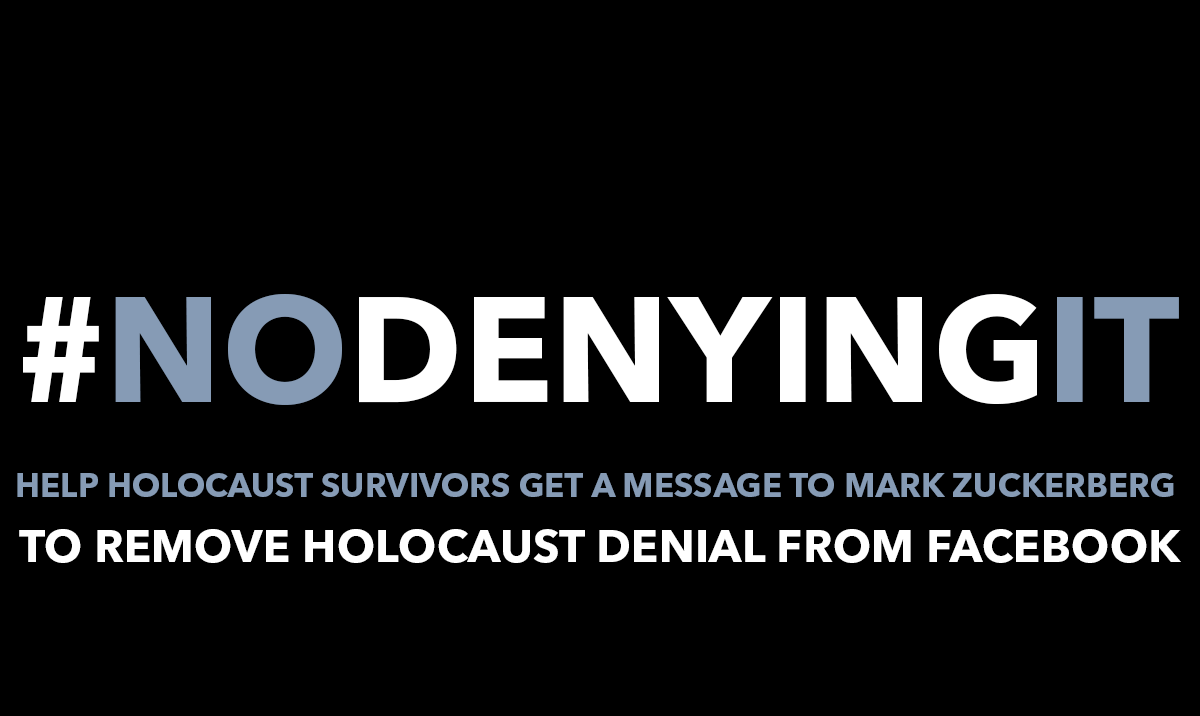 Claims Conference Statement Re: Facebook Policy Change: Holocaust Denial  and Distortion - Claims Conference