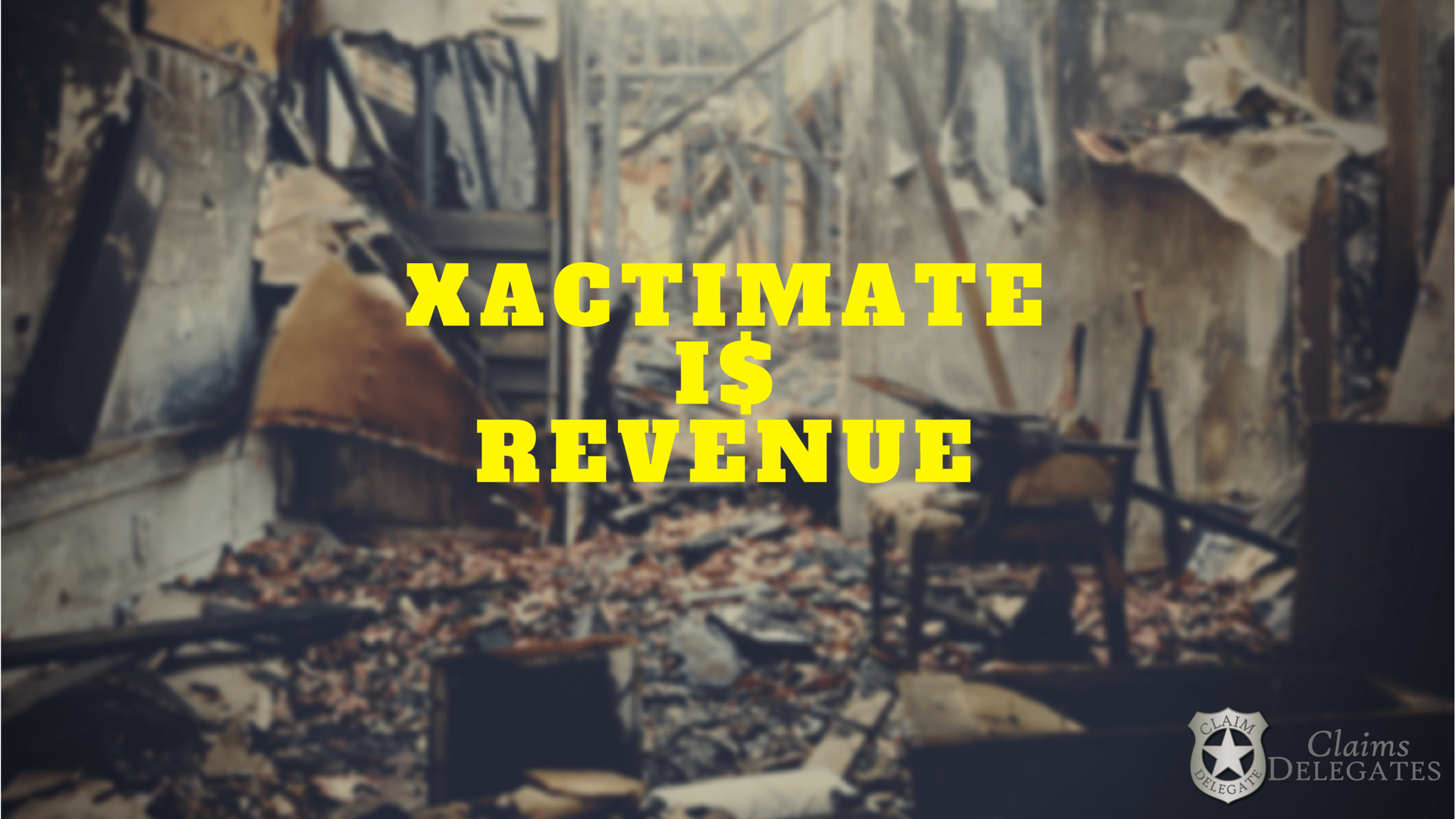 How to Make $1,000/hr using Xactimate for Water Damage