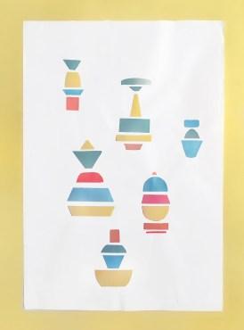 designer-claire-barrera-géometrique-totem-vaisselle-bordeaux-graphisme-edition