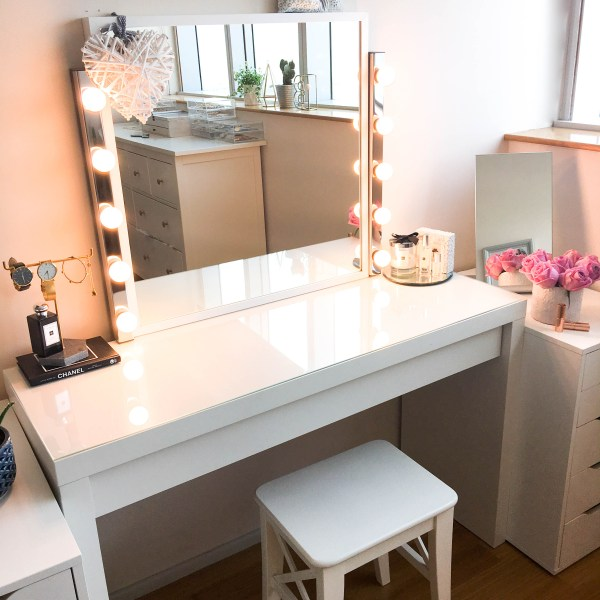 IKEA Makeup Vanity Table with Mirror