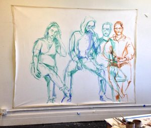 four figures drawn in SBL 0716