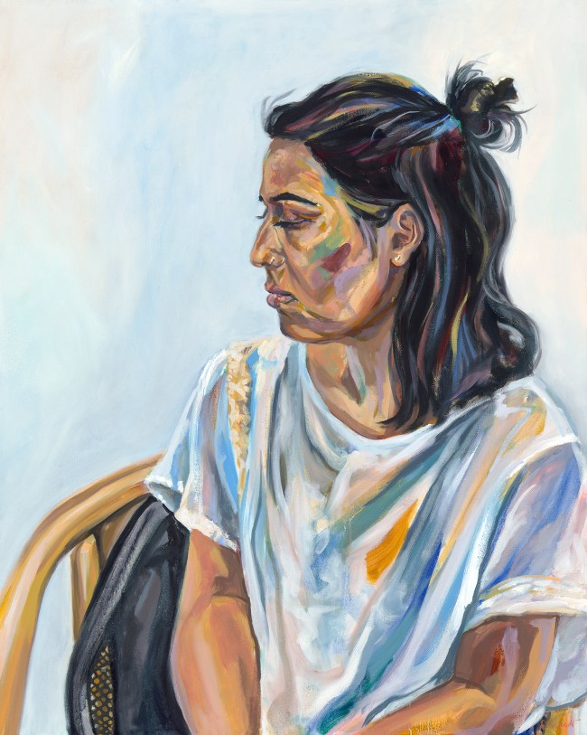 Portrait of young woman named Neha