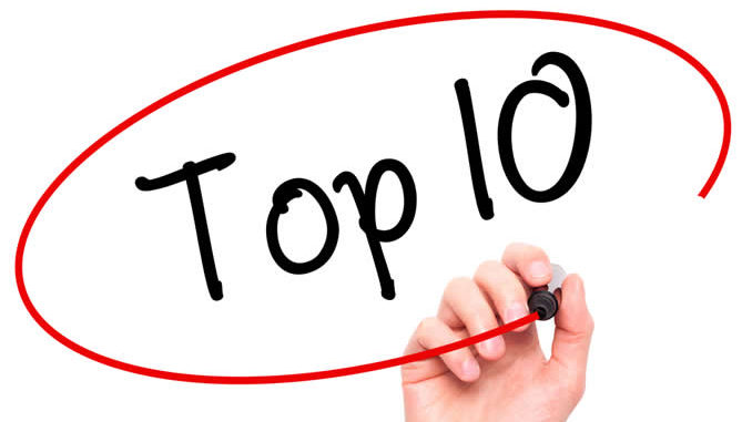 Résultats de recherche d'images pour «top ten»