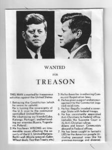 The Claire Flyer Found at the Parade in Dallas when John F Kennedy was Assasinated
